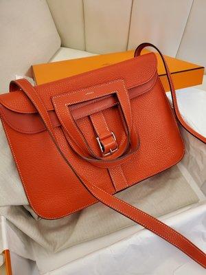 Hermes Halzan 紅色包