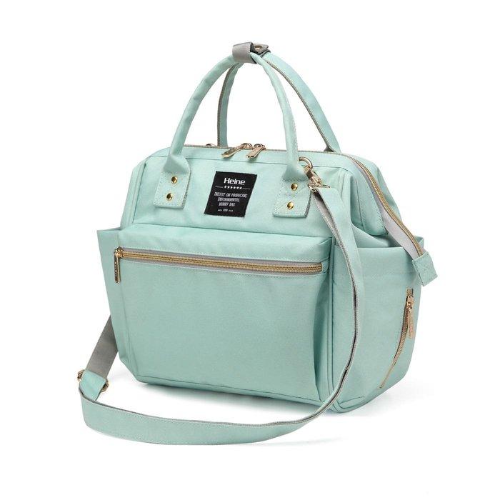 Heine 多種背法媽媽包 爸爸包 後背包 雙肩包 手提包 斜背包 旅行包 大空間 多口袋 多夾層 好收納