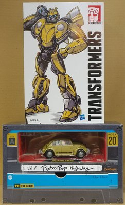 SDCC 2018 Transformers Bumblebee Studio Series 20 Vol.2 Retro Pop Highway