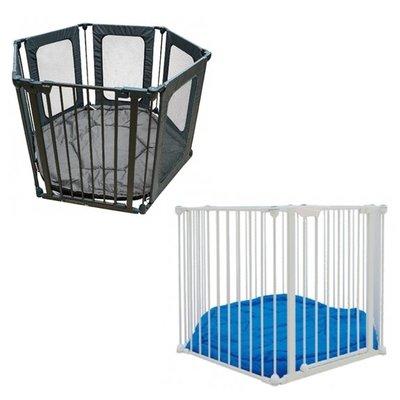 Kudos-多功能兒童圍欄(灰色/白色)