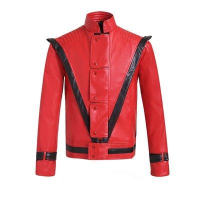 麥可傑克森,Michael Jackson ~Thriller(顫慄) 經典MV版紅色外套