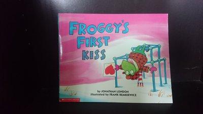 【童書】【英繪】Froggys first kiss by Jonathan London