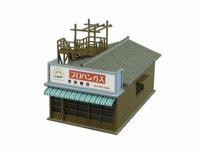 日本正版 Sankei 1/150 商店E MP03-54 紙模型 需自行組裝 日本代購