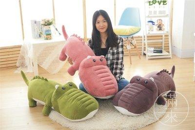 160CM 鱷魚公仔 鱷魚造型 抱枕【奇滿來】可愛 女生抱枕 絨毛玩具 娃娃 禮物 超柔軟 鱷魚娃娃 睡覺靠枕 ABXK