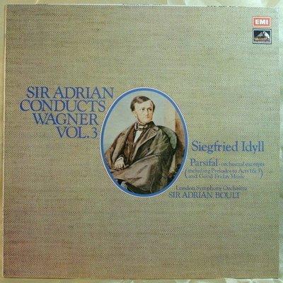 黑膠唱片 Boult - Wagner : Siegfried Idyll etc. (vol.3) (英HMV)