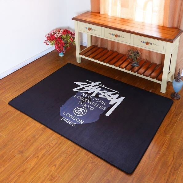 【NoComment】歐美潮流 高質感 Stussy室內外地毯 多種尺寸