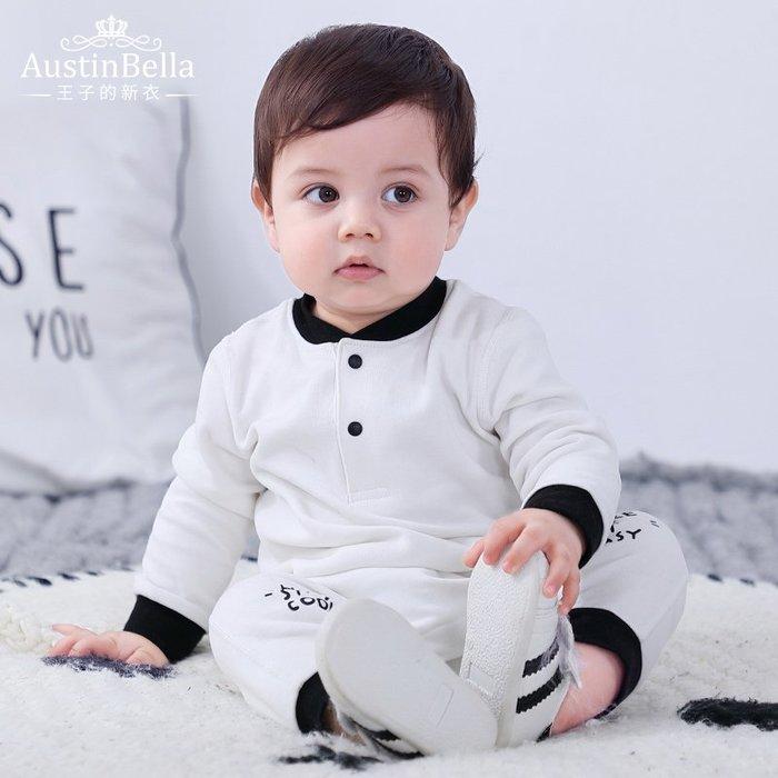 西西的賣場~嬰兒連身衣秋裝男寶寶春秋長袖純棉嬰幼兒哈衣爬服秋季衣服