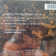 Scherchen,Beethoven-Sym No.3Eroica&6Pastorale,謝爾亨指揮,演繹貝多芬-第3號英雄&6號田園交響曲.