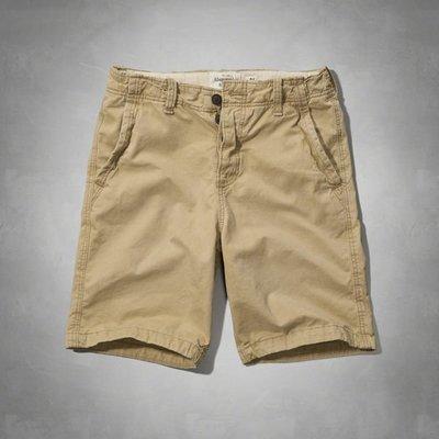 【BJ.GO】A&F CLASSIC FIT SHORTS A&F經典剪裁短褲/休閒短褲新品現貨36