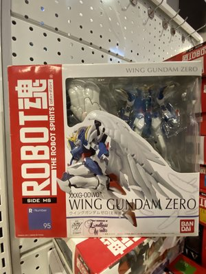 全新 Bandai Robot魂 NO 95 XXXG-00W0 Wing Gundam Zero EW 飛翼高達零式 (EW版)