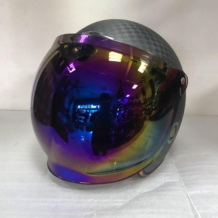M2R 大里特約商 M2R BULLDOG 碳纖維騎士帽(買帽再送原廠電鍍片)