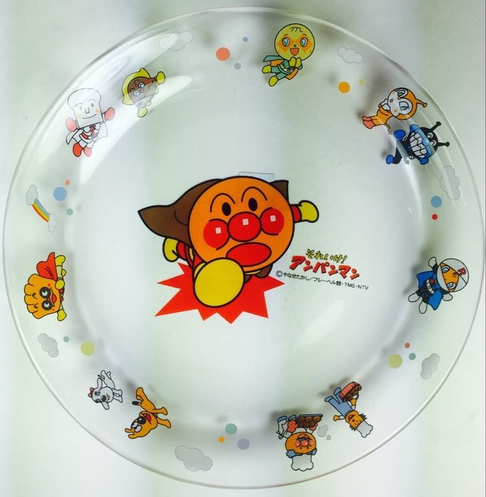 東京家族 日本進口麵包超人玻璃盤