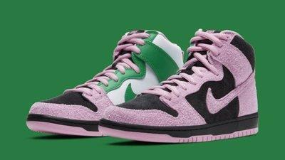 【S.M.P】Nike SB Dunk High Invert Celtics CU7349-001