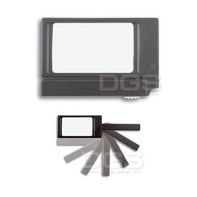 『德記儀器』《TFA》放大鏡 摺疊式 附燈 Magnifier, built-in light