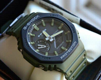 佐敦門市 現貨 100% 全新 Casio G-Shock GA-2110SU-3A 農家橡樹 Casioak 綠色 Olive 熱賣 人氣 一年保養