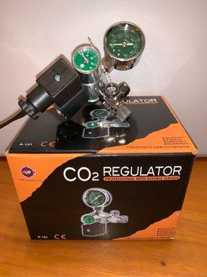 [水族最便宜]雅柏台灣製新式水草專業級雙錶CO2電磁閥(A-151)