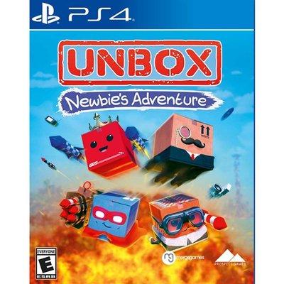 (現貨全新) PS4 拆箱:新手冒險 英文美版 Unbox: Newbie s Adventure