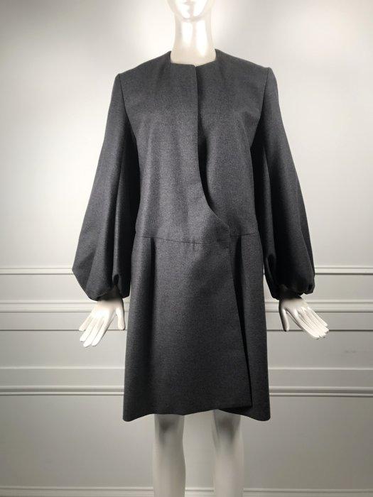 [我是寶琪] Yves Saint Laurent 灰色 Vintage 洋裝外套
