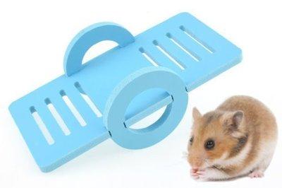 【監獄寵物館】寵物鼠推車造型蹺蹺板玩具