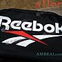 【AMBRAI.com】 Reebok Logo 銳步 經典 復古 腰包 側背 肩背 背包 運動 黑魂 紅 FS1621