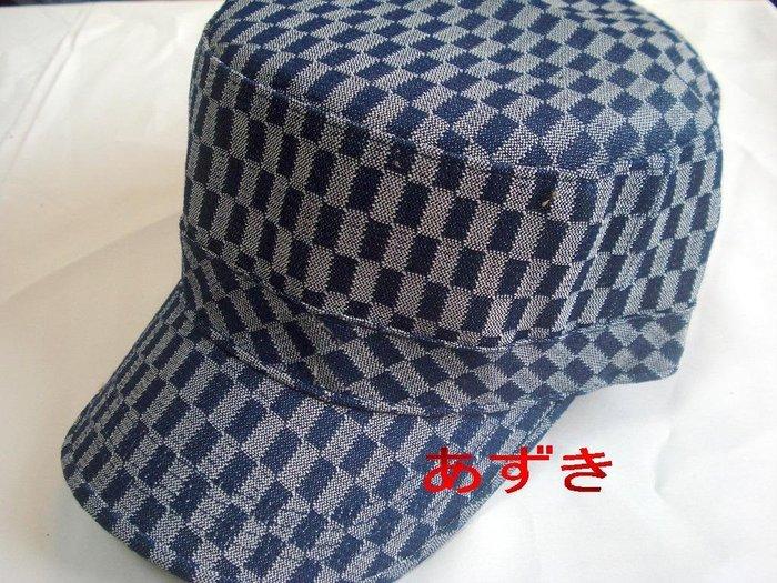 紅豆商行-韓國直送定番超人氣單品--方格配色軍帽下標區↘特惠價249