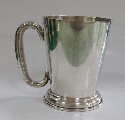 450高檔英國鍍銀茶杯Vintage Silverplate Ornate teamug Vintage Etched