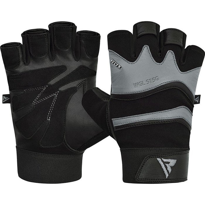 【神拳阿凱】RDX 英國 WGL-S15G 牛皮 健身手套 重訓 健身 防磨(免運)
