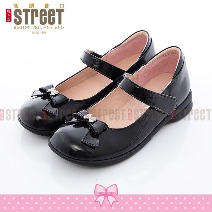 【街頭巷口 Street】台灣自創品牌 可愛蝴蝶結 合唱團必備 女童鞋 公主娃娃鞋 T915-14BK 黑色
