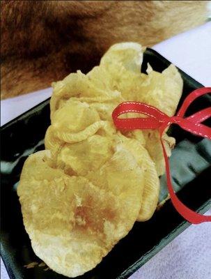 荷包花膠(150克1份)~小黃花膠 花膠桶車輪牌鮑魚 禮盒 日本干貝 魚翅 魚膠