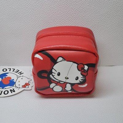 【文具小廣場】正版授權Hello kitty 方型零錢包