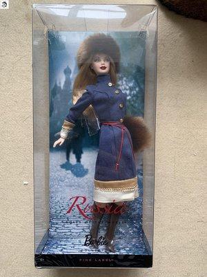 九州動漫芭比 Barbie World Russia 世界 珍藏系列之俄羅斯公主  現貨