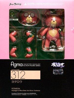 日本正版 figma 劇場版 蒼藍鋼鐵戰艦 熊 與太郎 霧島 可動 模型 公仔 日本代購
