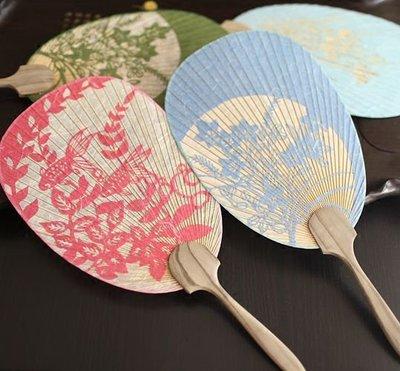 hello小店-【絕版收藏】精美日式和風團扇 雙層宣扇紙扇 剪紙工藝扇 裝飾扇#扇子#跳舞扇#折扇#