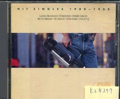 *真音樂* HIT SINGLES 1980-1988 二手 K24277