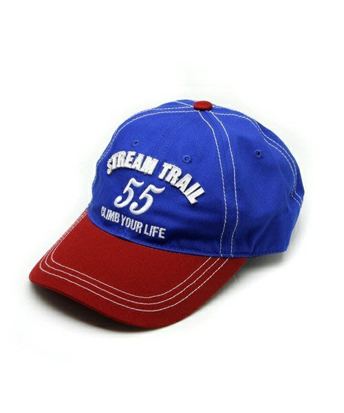 日本StreamTrail戶外防水包系列~帥氣棒球帽 ST-CAP2-BLUE COMBI夏天防曬必備-酷熱天一定要有