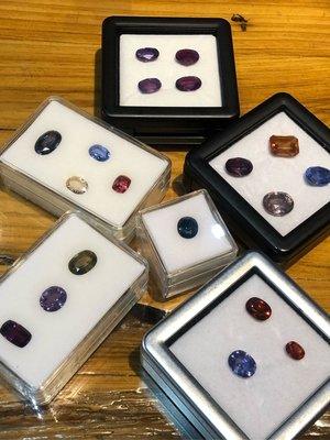 💎玉殿珠寶💎天然無燒各色藍寶石-各種稀有產地