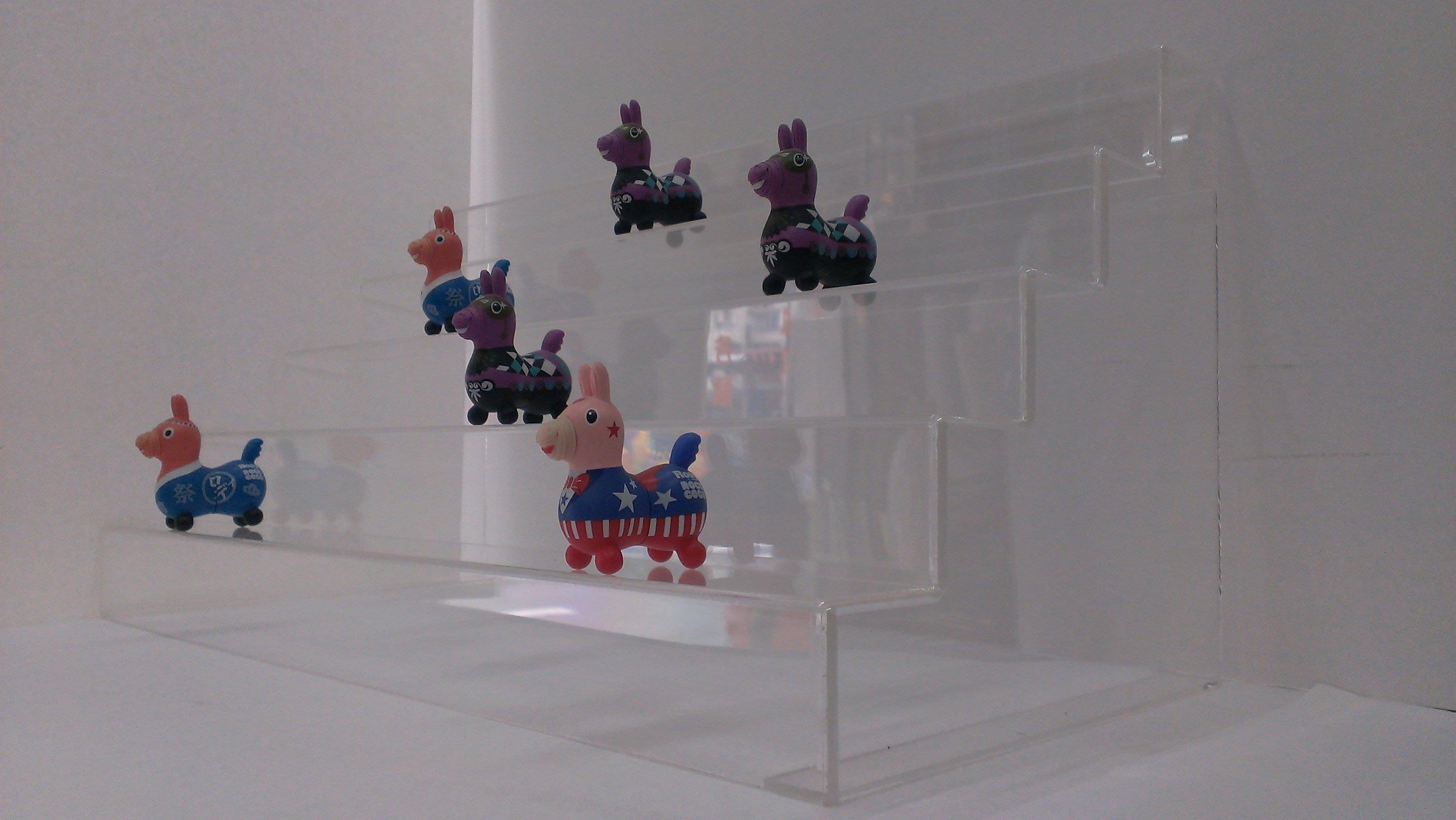 公仔架 展示台 壓克力架 陳列架 階梯式 模型架 玩偶展示