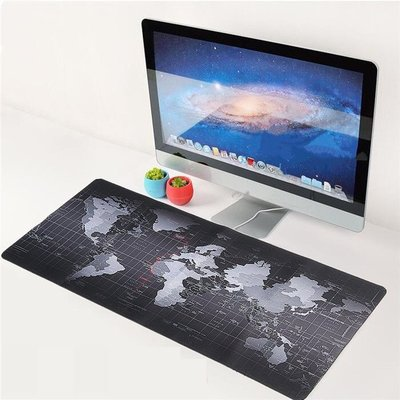 世界地圖滑鼠墊 加大  加長 大號 電競滑鼠墊 辦公用品 鍵盤墊 桌墊 布幔 玩GAME 壁掛墊 鼠標墊 地圖壁飾