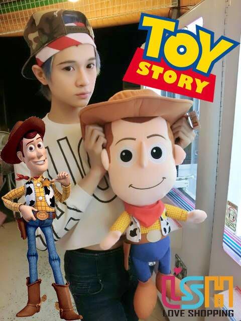 【愛購樂】 迪士尼 玩具總動員 胡迪警長 65CM 正版授權 玩偶 娃娃 抱枕