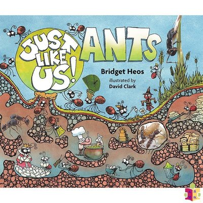 [文閲原版]Just Like Us!系列 像我們一樣:螞蟻 英文原版 Just Like Us! Ants Bridg