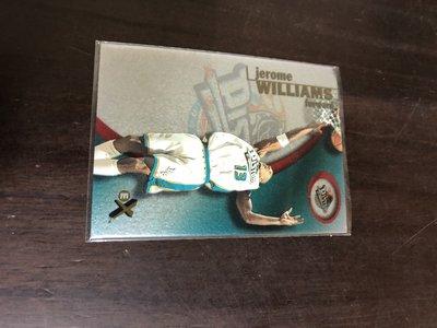 JEROME WILLIAMS   2001 EX 塑膠卡    24