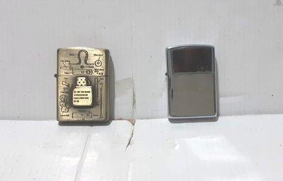 銅色和叻色 金屬打火機 各 1 個,八成新。每個 38元 。都係 高 5.5 CM x 橫 4 CM x 厚 1 CM。入燃料後即可用。面交如下。郵寄另議。