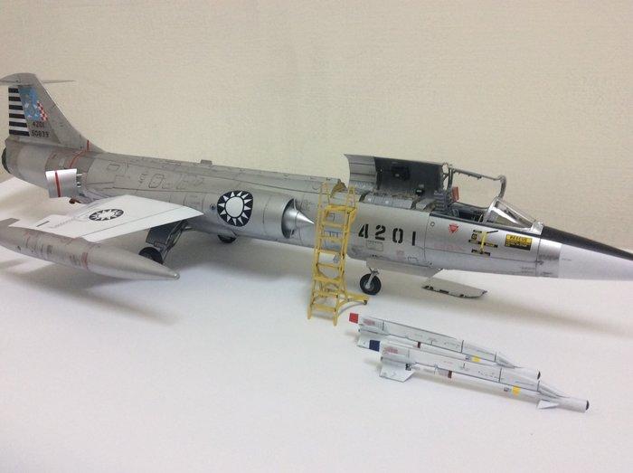 國軍F104A國軍第一架超音速戰鬥機