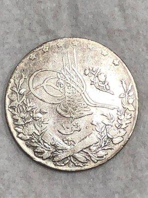 1910年 埃及 銀幣