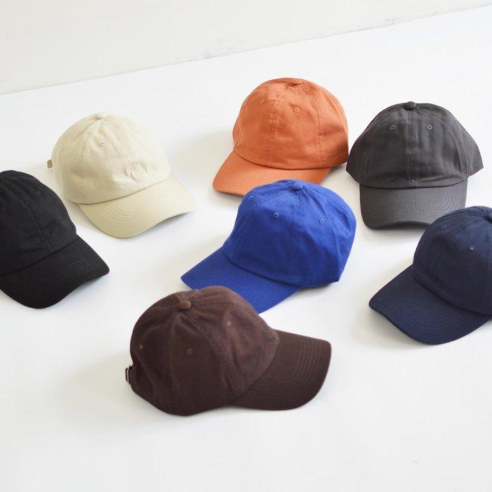 X10  素色 可調式  軟頂  老帽  軟帽 彎檐 復古 中性  大地色系
