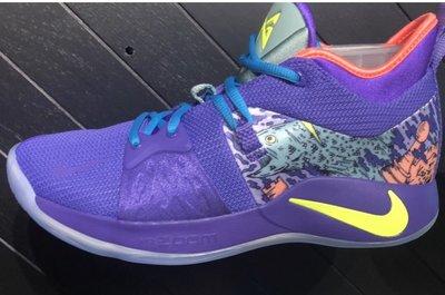 全新正品 Nike Paul George PG 2 Mamba Mentality 曼巴精神 紫