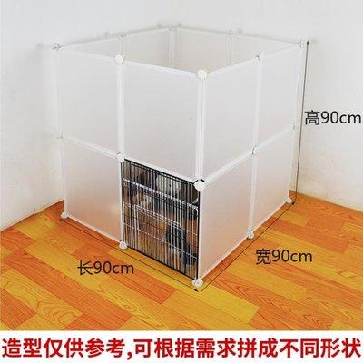 寵物圍欄狗狗柵欄室內隔離狗護欄貓咪貓舍泰迪小狗籠子小型犬家用