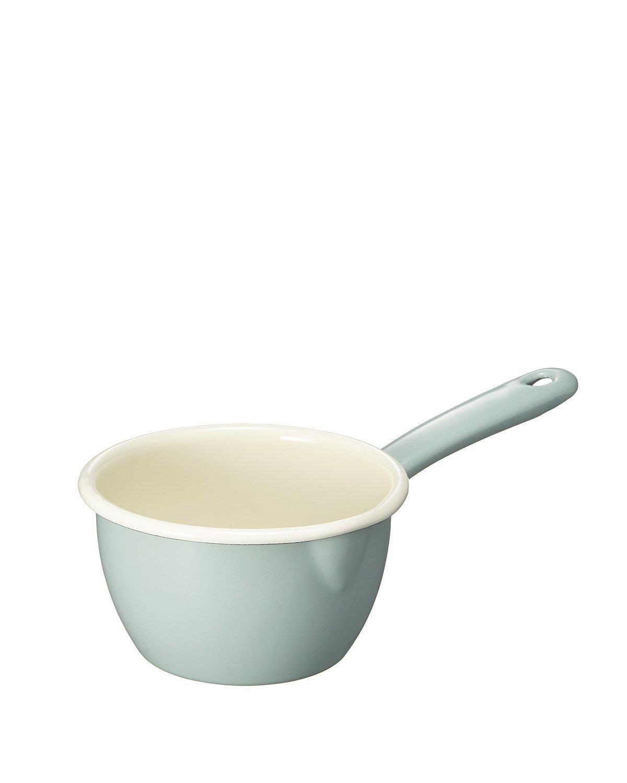 【小胖日本代購】 福利品 半價出清 英國 dexam 琺瑯鍋/牛奶鍋(12cm/670ml)◎湖水綠下標區