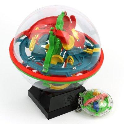 練耐心3D立體迷宮球大號100關中小學生親子互動兒童專注益智玩具    全館免運