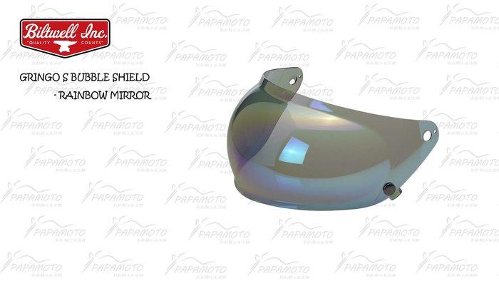 Biltwell:Gringo S 鏡片款樂高帽專用泡泡鏡片-電鍍彩虹 ( 電鍍片 彩虹電鍍 泡泡鏡 遮陽